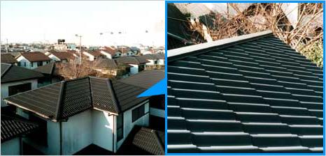 新生瓦屋根とファインスチール屋根の比較